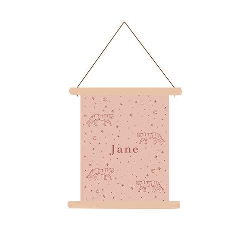 Textielposter Jane