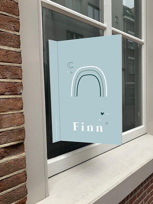 Geboortebord Finn