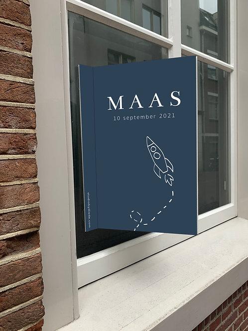 Geboortebord Maas
