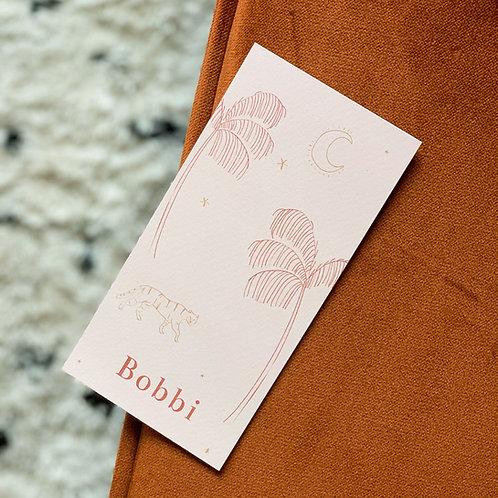 Geboortekaartje Bobbi blush