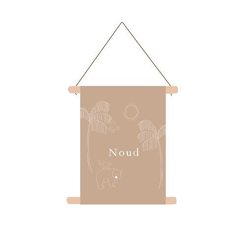 Textielposter Noud