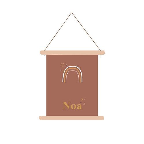 Textielposter Noa