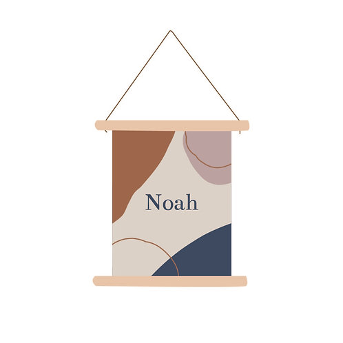 Textielposter Noah