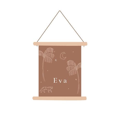 Textielposter Eva