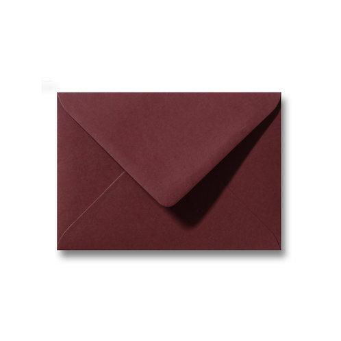 Envelop donkerrood