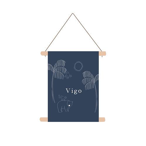 Textielposter Vigo