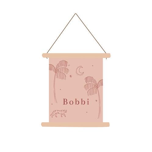 Textielposter Bobbi