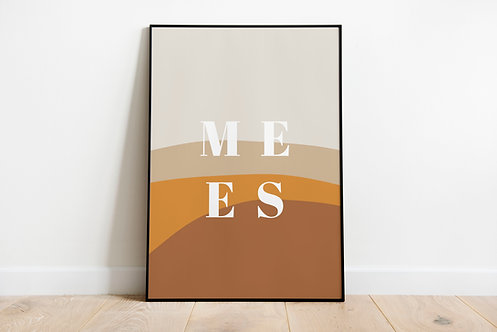 Poster Mees