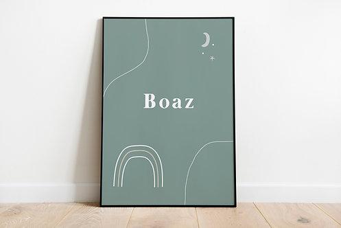 Poster Boaz