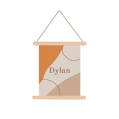 Textielposter Dylan