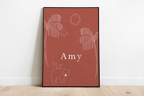Poster Amy