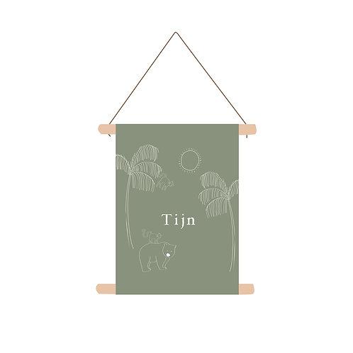 Textielposter Tijn