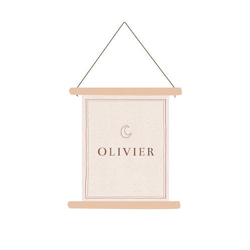 Textielposter Olivier