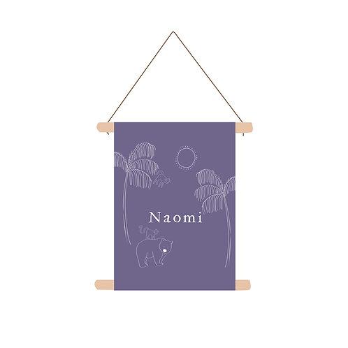 Textielposter Naomi