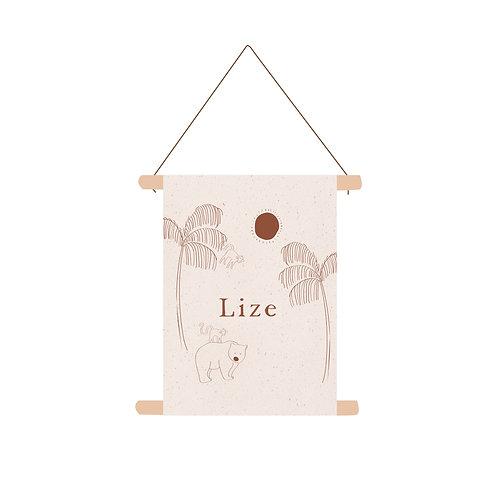 Textielposter Lize