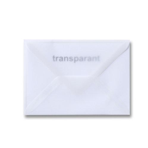 Transparante envelop