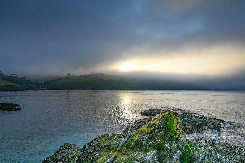 Talland Bay Sunrise Mist