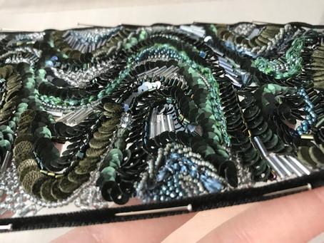 刺繍素材▫️キュベット マットグリーン