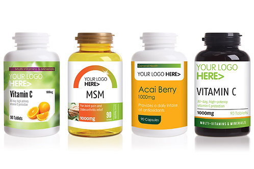 Private Label Vitamins & Supplements
