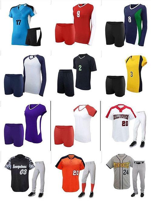 Private Label Team Sports Wear