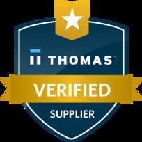 Thomas Verified Supplier Shield. May 27.
