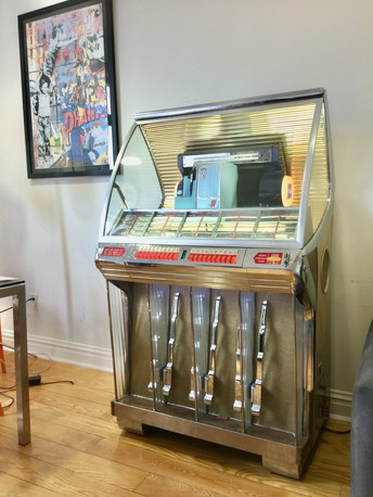 Sold jukebox