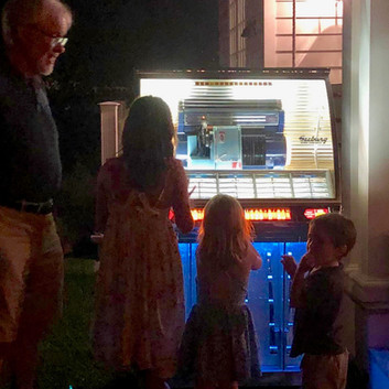Jukebox at 75th Birthday Party