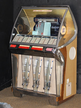 Seeburg HF100R Jukebox (Repaired & Repainted Cabinet)