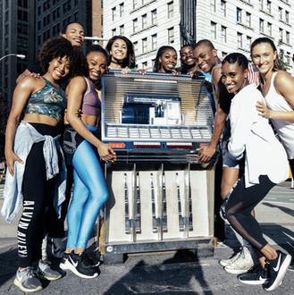 Alvin Ailey Jr. Dancers Video Shoot
