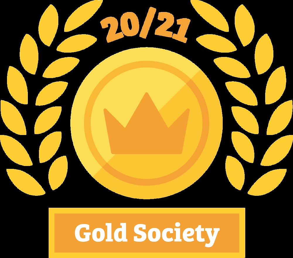 KCLSU 20/21 Gold Society Awarded to KCL Jazz Society