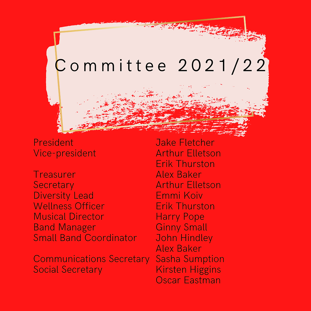 KCL Jazz Society Committee 2021/22