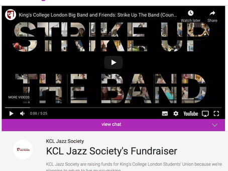KCL Jazz Society Fundraiser