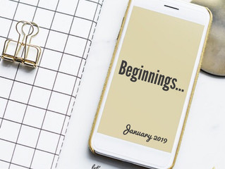 Beginnings.
