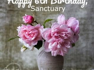 Happy Birthday, Sanctuary!