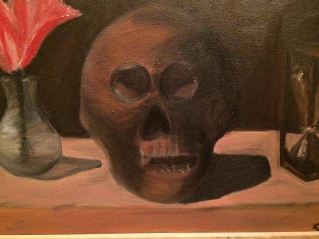 Cezanne Skull