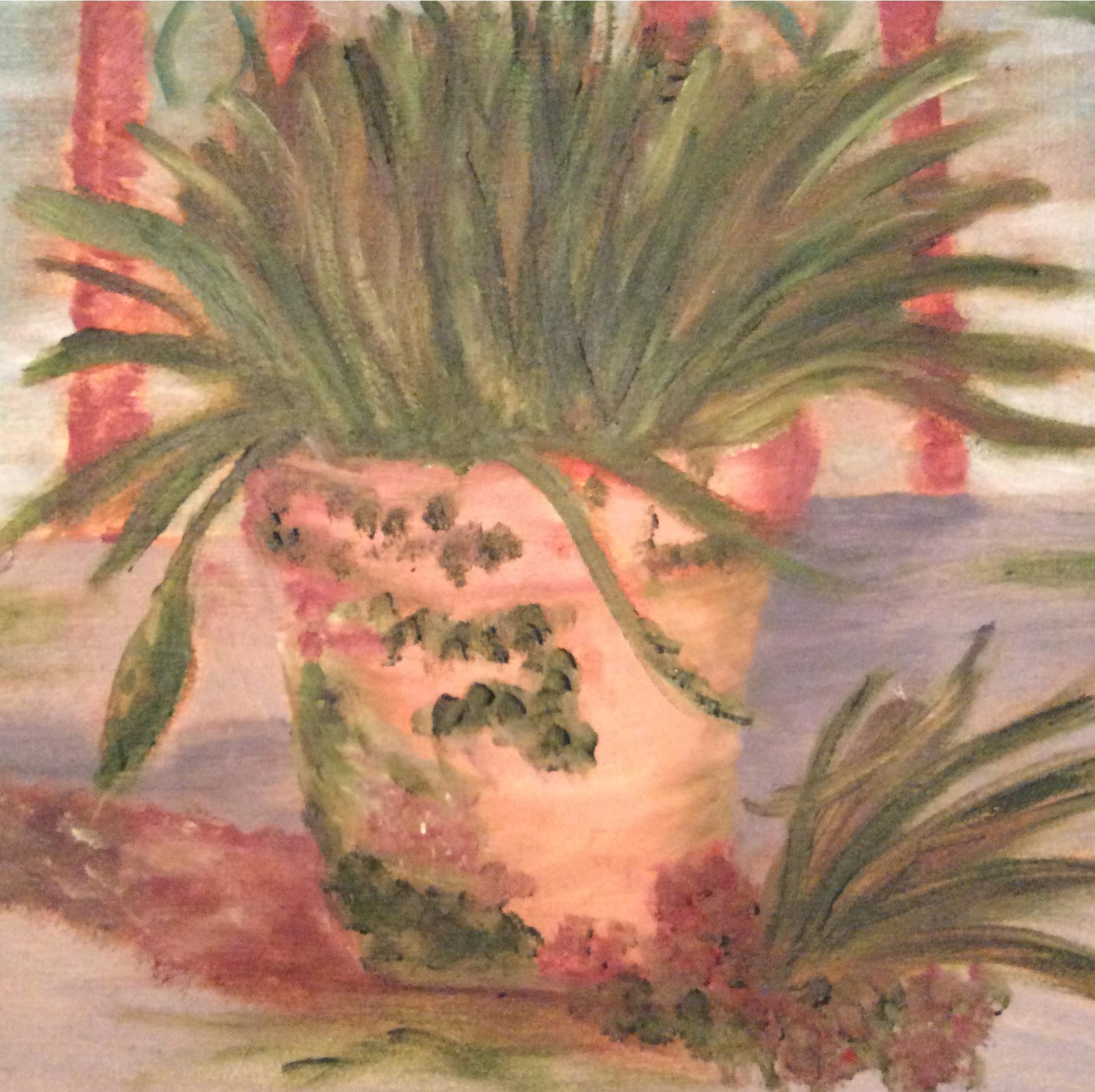 van gogh still life plant