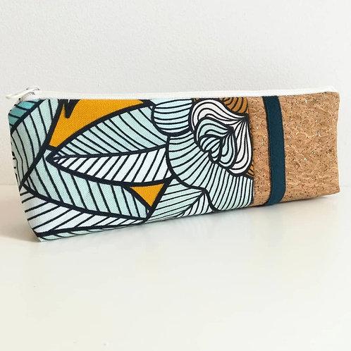 Trousse Skol - Coton Bleu canard