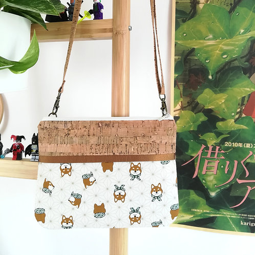 Pochette Plume - Coton japonais Anasoha & Shiba