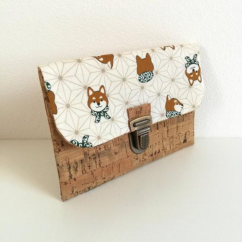 Pochette Paper - Coton japonais Anasoha & Shiba