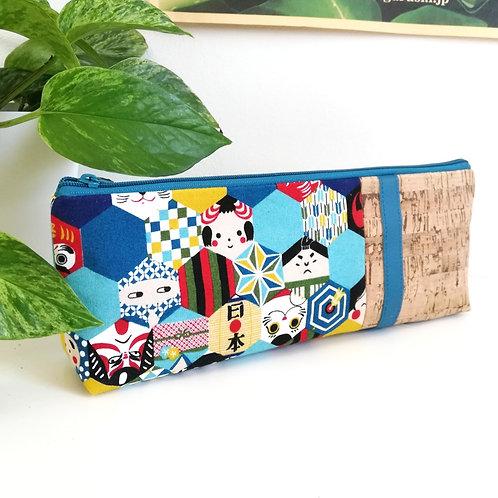 Trousse Skol - Coton Japonais Symboles du Japon