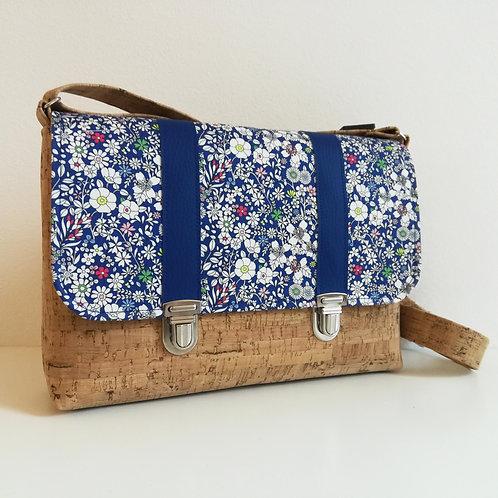 Sac Licuala - Liberty June's Meadow Bleu roi