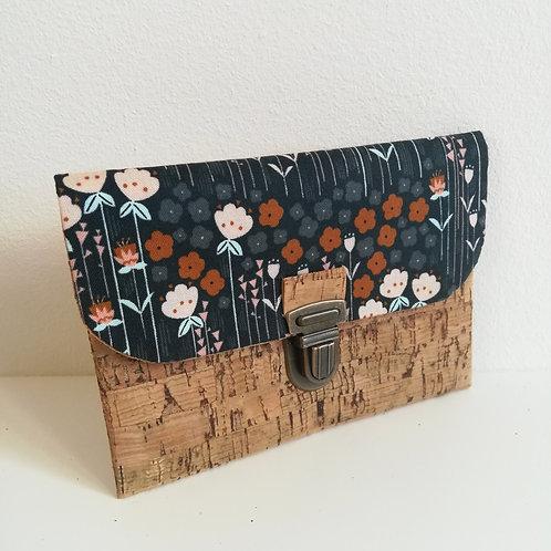 Pochette Paper - Coton imprimé fleurs