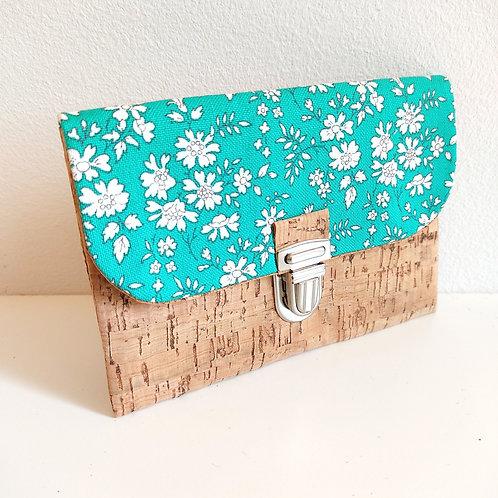 Pochette Paper - Liberty Capel japonais vert Emeraude