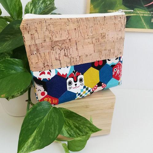Pochette Mix - Coton japonais Symboles du Japon