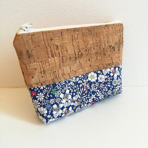 Pochette Mix - Liberty June's Meadow Bleu roi