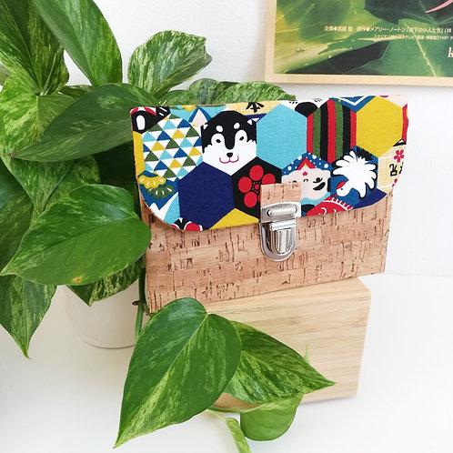 Pochette Paper - Coton japonais Symboles du Japon