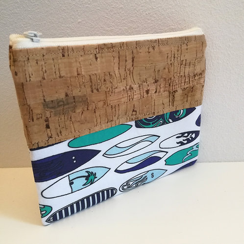Pochette Mix Plate - Planches de surf bleu / vert