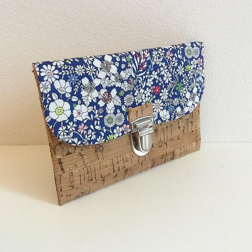 Pochette Paper - Liberty June's Meadow Bleu roi