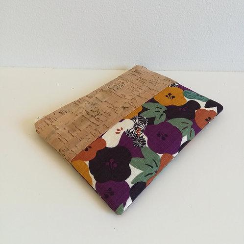 Pochette Mix Plate - Coton japonais Fleurs de prunier