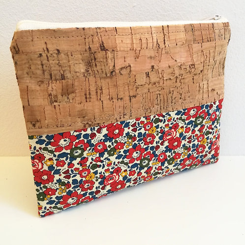 Pochette Mix Plate - Liberty Betsy Ann Rouge